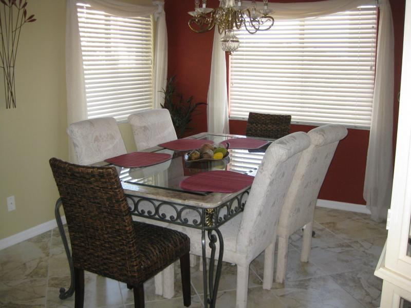 dining area - Casa Marina, 2/2, updated and clean!! - Fort Myers Beach - rentals