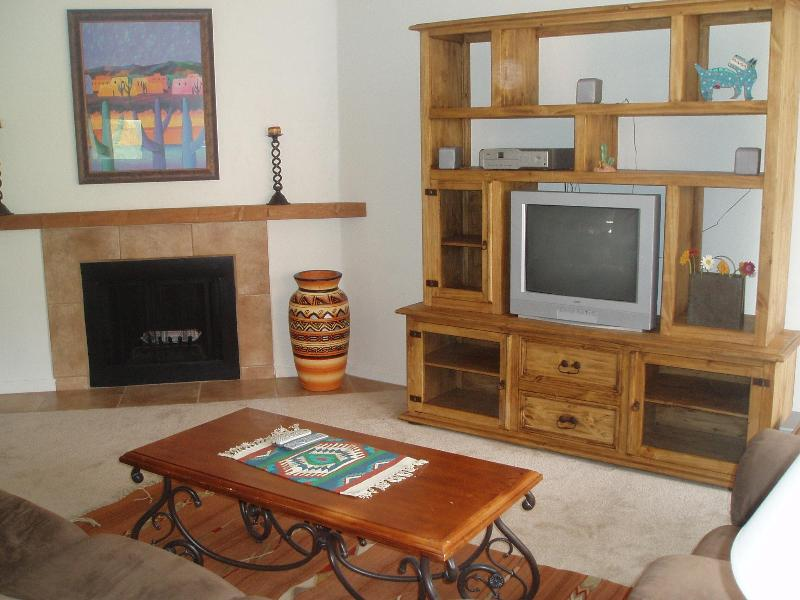 relax in front of the fireplace - Fabulous Condo At  Base Of The Catalina Foothills - Tucson - rentals
