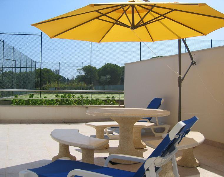 Balcony - Holiday Apartment in Olhos D'Aqua in Algarve - Albufeira - rentals