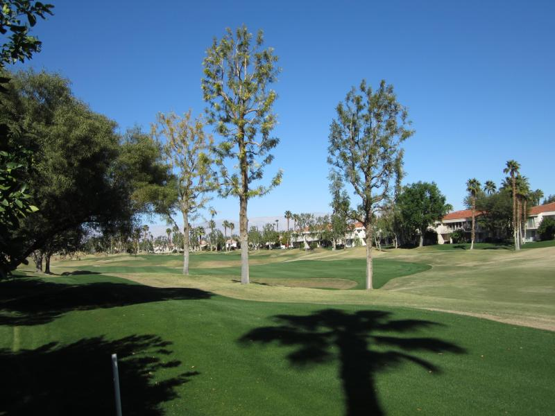 View from patio - 2 Bdrm 2 Bath in PGA West 1 mi from Polo Grounds - La Quinta - rentals