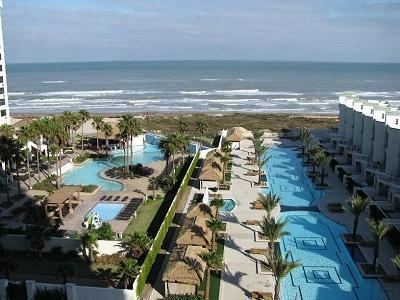 View from the balcony!  Easy access to the beach. - Sapphire 707: Book in Jan/Feb for Summer Discounts - South Padre Island - rentals