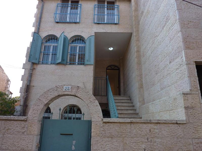 House Entrance - Lovely Budget Apartment in Nachlaot Jerusalem - Jerusalem - rentals