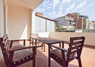 Terrace - Beautiful apart.w/ terrace next to city center - Barcelona - rentals