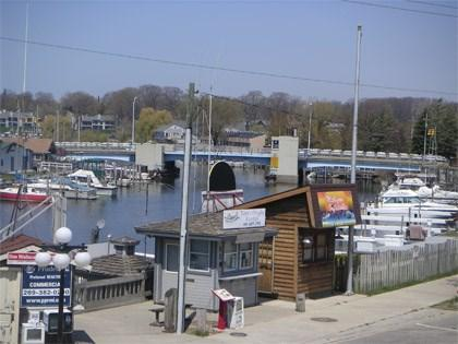 View from the Balcony - WaterTowne 02 - Prima Donna - Weekly stays begin on Fridays - South Haven - rentals