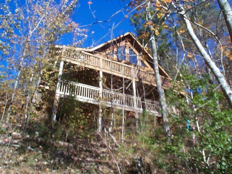 View of Mtn Peek Cabin - Third Night Free....Year Round Mtn Views - Blue Ridge - rentals