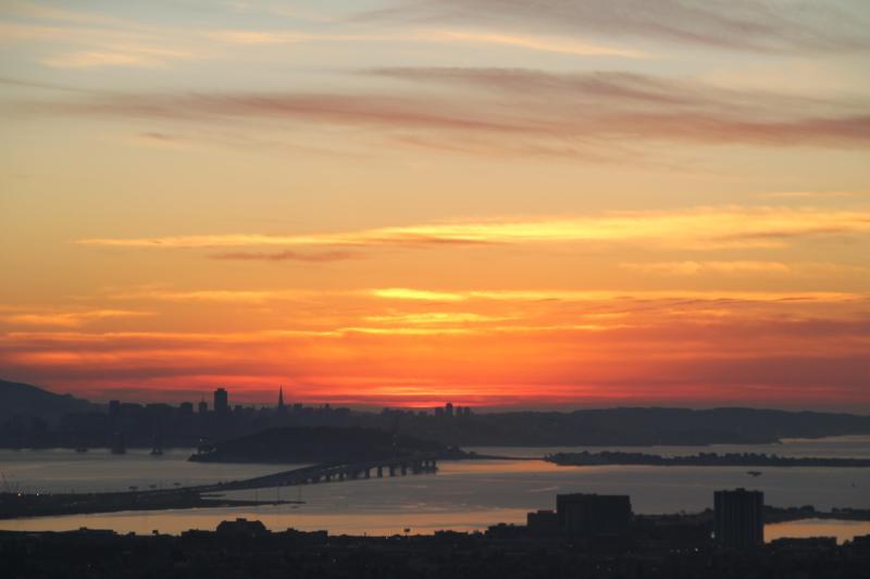 SF Bay Views - Spectacular, large flat with SF Bay & bridge views - Berkeley - rentals
