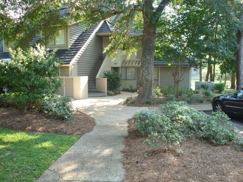 Villa Front - Quiet Secluded but close to eveything - Great Deal on Beautiful, Remodeled 2 Bedroom Villa with a Terrace - Myrtle Beach - rentals