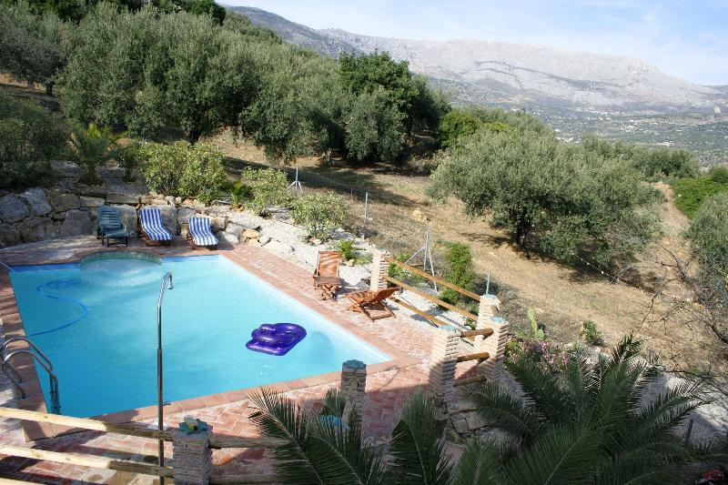 Stunning Private fenced pool 9ms x 5ms - Country House Private  Pool,  Inland Costa del Sol - Periana - rentals