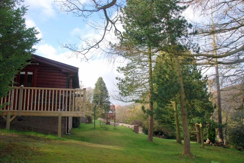 The Larches - Log Chalet/amenities close/amazing views/sleeps 2 - Church Stretton - rentals