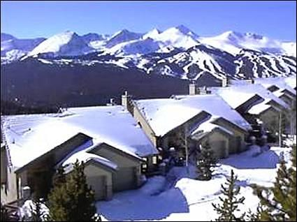 Mountain Views from this Fantastic Townhome - Perfect for Two Families - Stunning Mountain Views  (7028) - Breckenridge - rentals