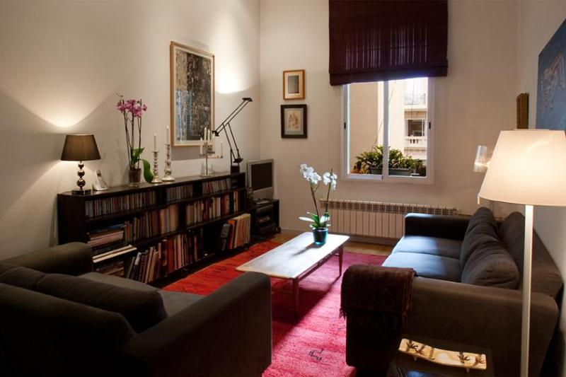 living - Modern and elegant apartment Plaza Colon - Madrid - rentals