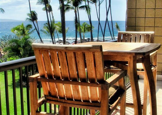 Ocean Front Air-Conditioned 1-Bedroom Condo at Mana Kai - Image 1 - Kihei - rentals