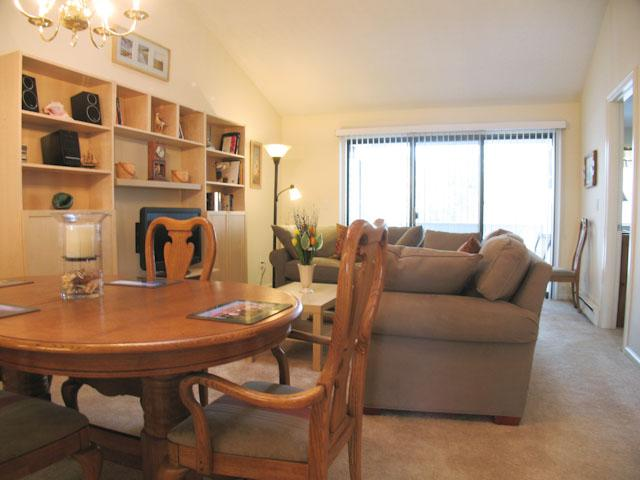 Living Room and Dining Area - Ocean Edge Upper Level with Pool (fees apply) - EA0458 - Brewster - rentals