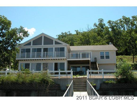 View from the dock - 6 Bedroom Lakefront home-17MM Mid Week Special! - Osage Beach - rentals