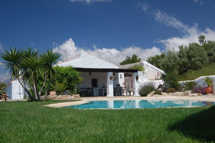 poolside - Peaceful holiday home in rural Andalucia - Alcaucin - rentals