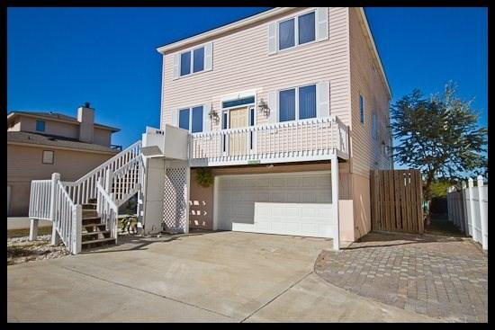 front of house - Maine Page - Tybee Island - rentals