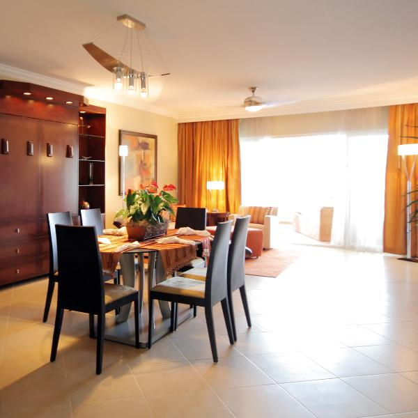 Presidential suite Dining living area - Presidential Suites 1, 2 bed VIP Gold Shareholder! - Puerto Plata - rentals
