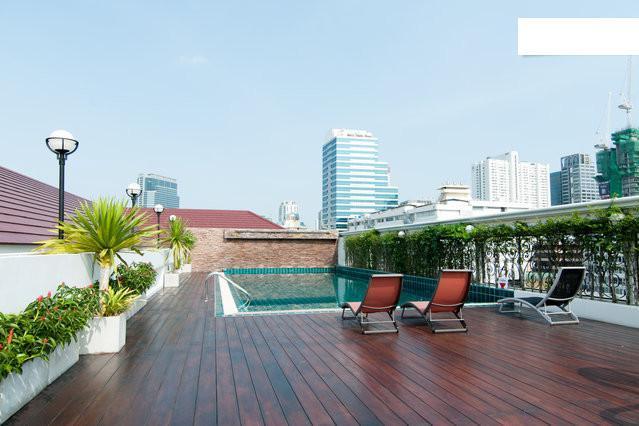 rooftop pool - 1 bedroom near BTS and MRT - Bangkok - rentals