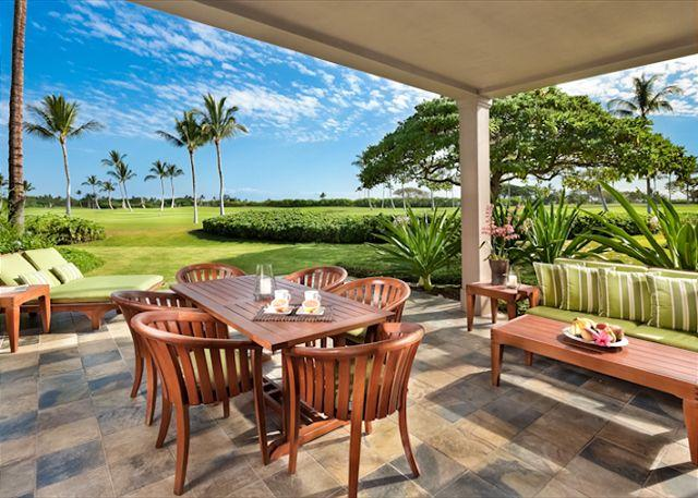 Lanai - Luxury Ground Floor 3 Bdrm Villa near Four Seasons. - Kailua-Kona - rentals