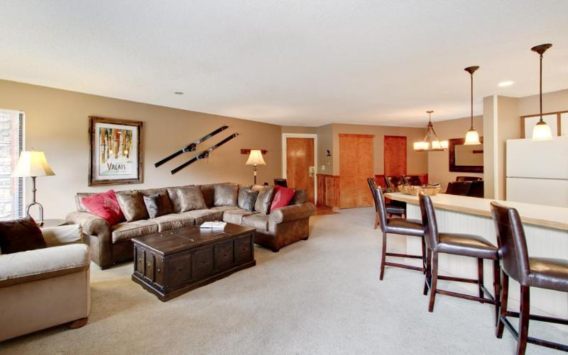 2 Bedroom, 2 Bathroom House in Breckenridge  (12D) - Image 1 - Breckenridge - rentals