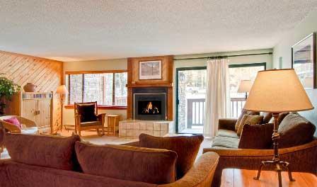 2 Bedroom, 2 Bathroom House in Breckenridge  (10B) - Image 1 - Breckenridge - rentals