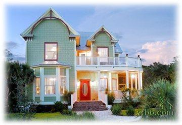 Anna's Veranda Victorian Home for Rent - Anna's Veranda Victorian Gem in Florida Panhandle - Panama City Beach - rentals