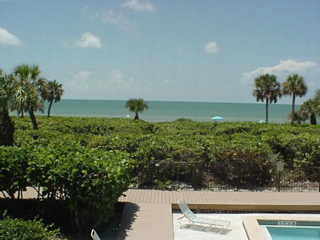 Direct Gulf view from our private balcony! - White Sands #13 Gulf front condo on Sanibel Island - Sanibel Island - rentals