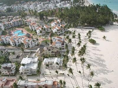 Stanza Mare and Beach from above - Beautiful 2 Bedroom Beachfront Condo in Punta Cana - Punta Cana - rentals
