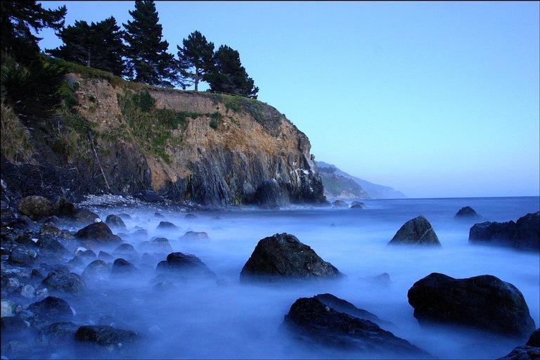 Deer Point, your private peninsula, as seen from Esalen's beach - Luxury Zen Estate on the Big Sur Coast - Big Sur - rentals