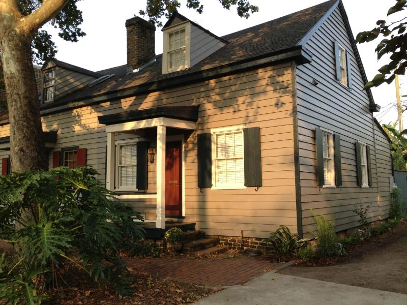 Front exterior - The Cozy Cottage on Tattnall Street - Savannah - rentals