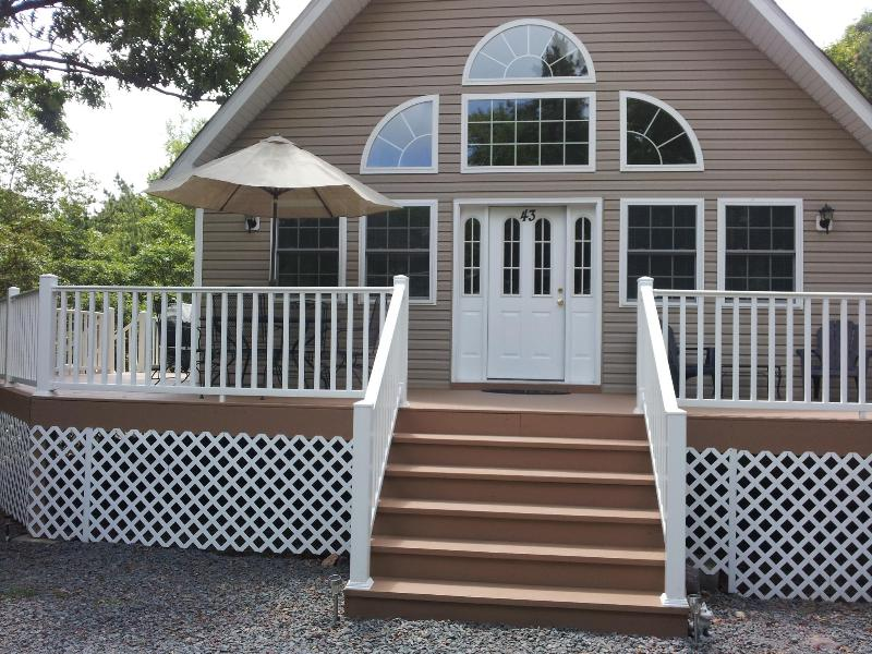Front of House - Beautiful Mtn.Chalet Close To Major Attractions - Albrightsville - rentals