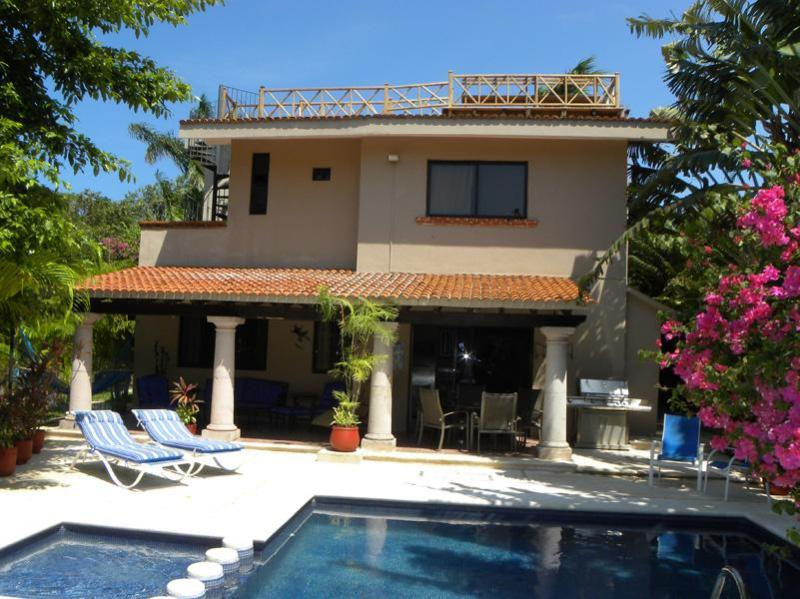 View of Villa Estefania - 4 BR Villa with Private Pool minutes from Beach - Playa del Carmen - rentals