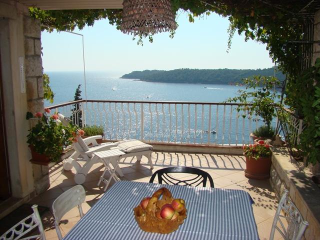 Terrace - Hedera A17 - Dubrovnik - rentals