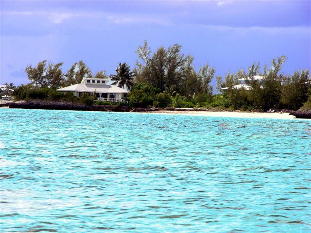 Sur La Mer from the Water - Sur La Mer From $1,500.00 / week - Abaco - rentals