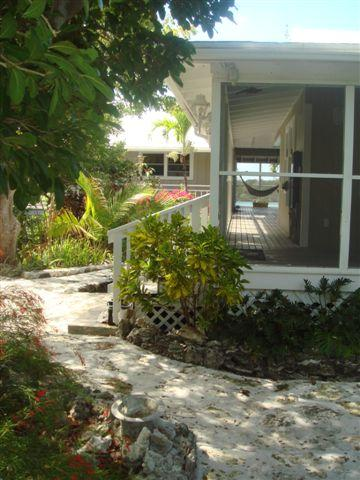 Entrance to The Cottage - The Cottage - from $3,000 per week - Marsh Harbour - rentals