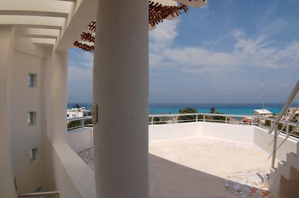 lower front terrace - Casa Cobá-Authentic Mexican Suites! - Cozumel - rentals