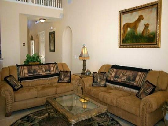 Living Area - FG7PFG7 Amazing 7 Bedroom Home with Cozy Furnishings - Orlando - rentals