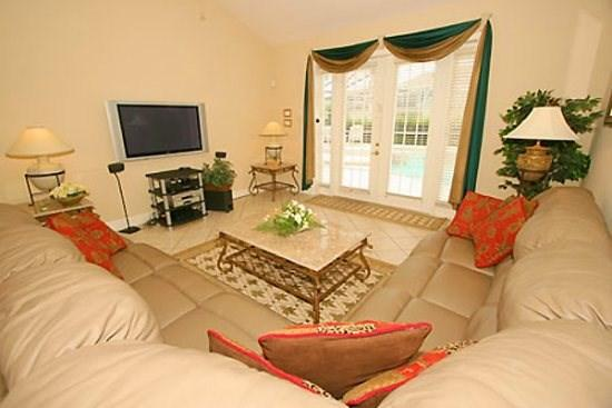 Family Room - FG7PFG5 Large 7 Bedroom Pool Home Very Close to Disney - Orlando - rentals