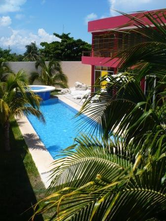 Private Home with large pool - Architecturally Stunning Mexican Island Villa - Isla Mujeres - rentals