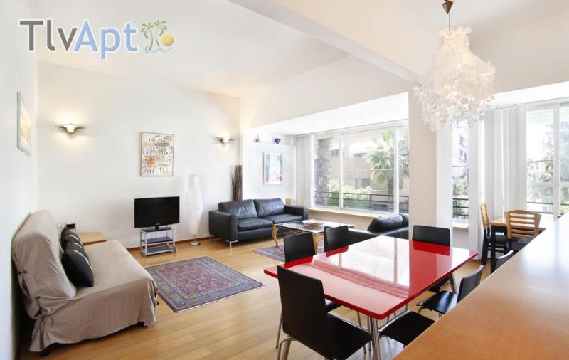 Large 2-bedroom- Ruppin Street- Seaview - Image 1 - Tel Aviv - rentals