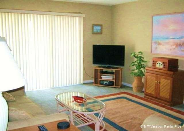 Enjoy our beautiful Tradewinds 122 ocean view living room - Tradewinds 122 at Crescent Beach, St Augustine FL - Saint Augustine - rentals