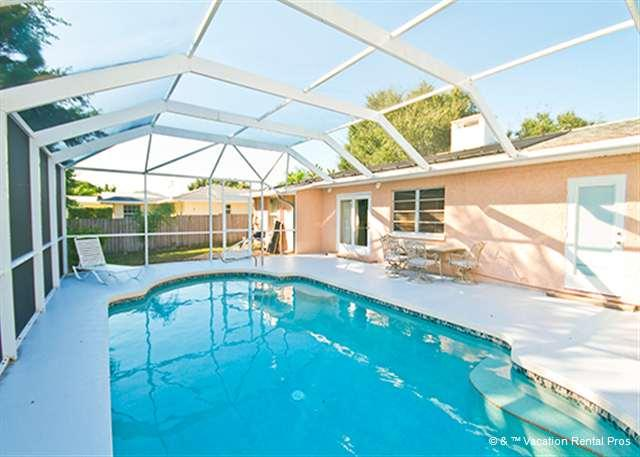 Our Bayshore house features a brand new heated pool! - Bayshore Home, Heated Pool, Wifi & HDTV, on Venice Island - Venice - rentals