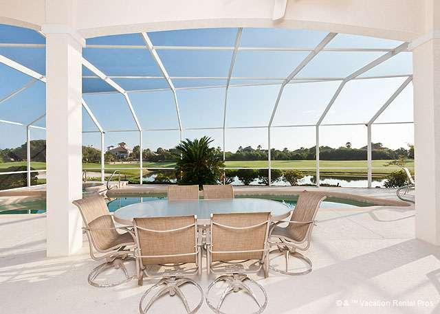 Come take in the beauty of our lanai - Bahama Mama, Private Pool, Ocean Views - Palm Coast - rentals
