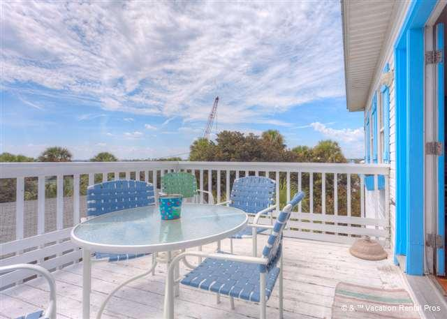 Stunning views from our outdoor patio will captivate and inspire - Villa Villekula Beach House, 4 bedrooms, secluded beach, HDTVs - Saint Augustine - rentals