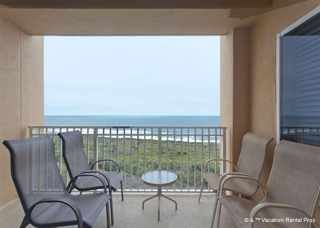 Fall in love with the ocean all over again from the balcony. - Surf Club III 705, Beach Front, 7th Floor, 3 Bedrooms, 3 Pools - Palm Coast - rentals