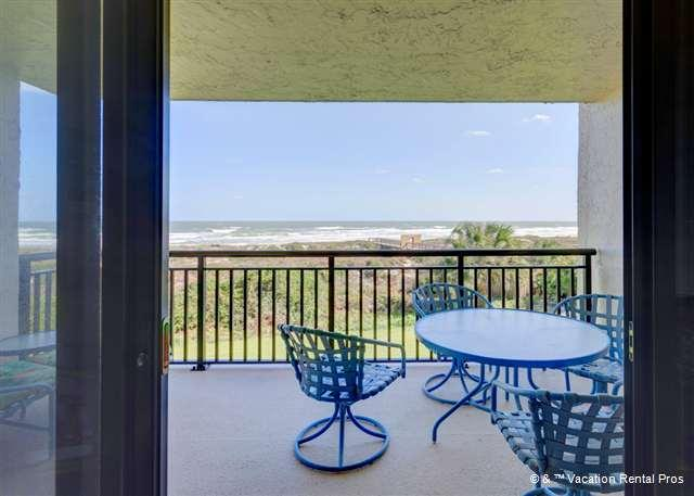 If you think the picture is nice, come experience it in person! - Barefoot Trace 204, Ocean Front, Pool, St Augustine Beach - Saint Augustine - rentals