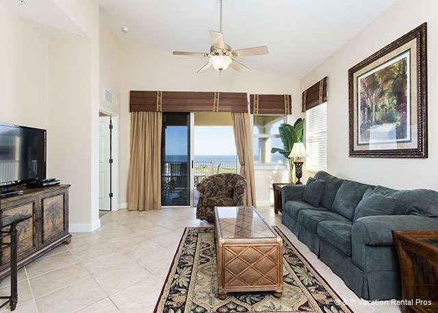 Perfect viewing for a movie and HDTV - 165 Cinnamon Beach, Ocean Hammock Golf Course Penthouse Condos - Palm Coast - rentals