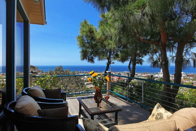 Ocean Views from many private decks - Ocean View Village Home - La Jolla - rentals