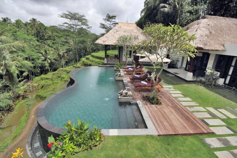 Villa Amrita Infinity Pool and View - Villa Amrita Ubud Bali - Ubud - rentals