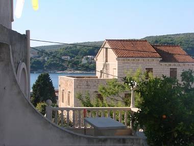 A3(2+1): balcony view - 5085  A3(2+1) - Sumartin - Sumartin - rentals